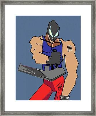 Kutta Framed Print by Derrick Hayes