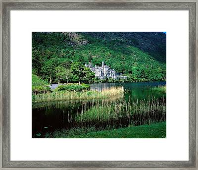 Kylemore Abbey, Co Galway, Ireland Framed Print by The Irish Image Collection