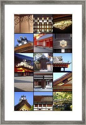 Kyoto Imperial Palace Framed Print by Roberto Alamino