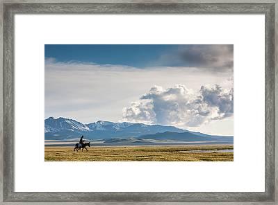 Kyrgyzstan Framed Print by Konstantin Dikovsky