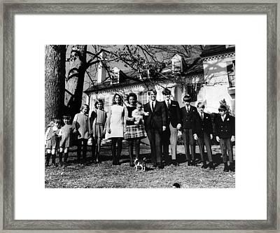 L-r Matthew Maxwell Taylor Kennedy Framed Print by Everett