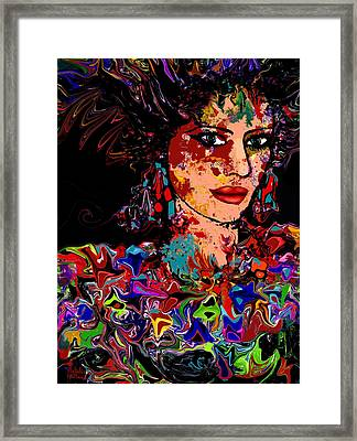 La Bella Framed Print by Natalie Holland