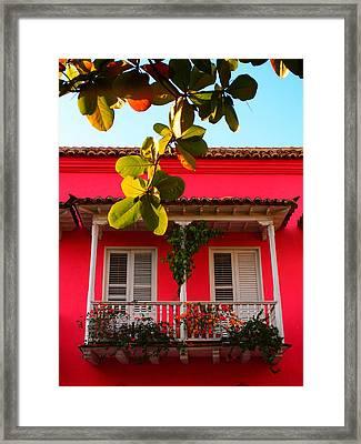 La Casa De Los Duendes Framed Print by Skip Hunt