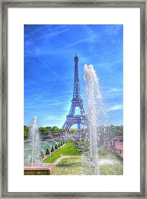 La Dame De Fer Framed Print by Barry R Jones Jr
