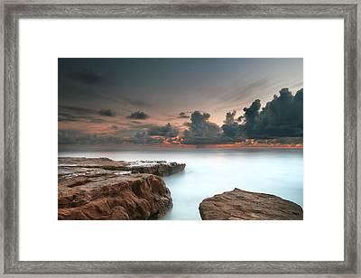 La Jolla Reef Sunset 6 Framed Print by Larry Marshall