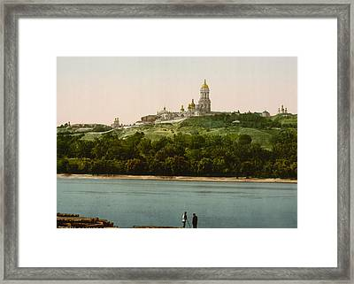 La Lavra - Kiev - Ukraine - Ca 1900 Framed Print by International  Images