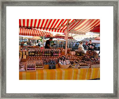 La Marche Framed Print by Sarah Foley