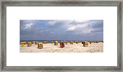 Laboe Beach ... Framed Print by Juergen Weiss