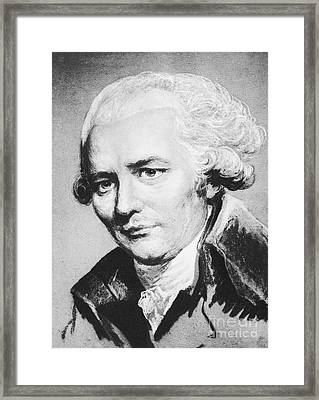 Laclos (1741-1803) Framed Print by Granger