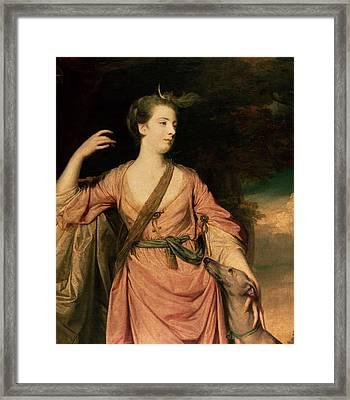 Lady Dawson Framed Print by Sir Joshua Reynolds