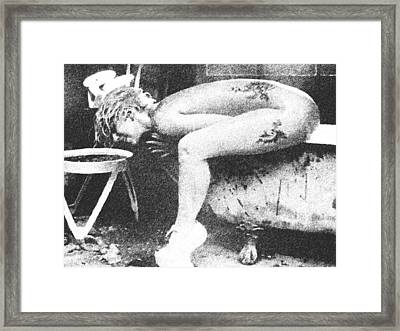 Lady Gaga V3 Framed Print by Cyryn Fyrcyd