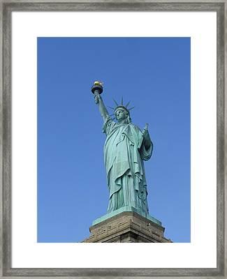 Lady Liberty Framed Print by Tanya Moody