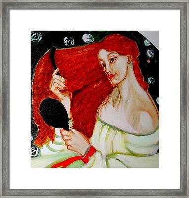 Lady Lilith Framed Print by Rusty Woodward Gladdish