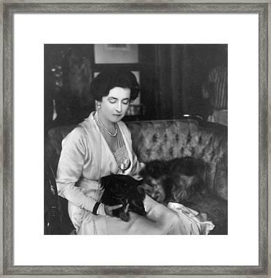 Lady Lucy Duff-gordon 1863-1935 English Framed Print by Everett