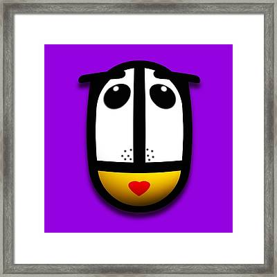 Ladymouse Framed Print by Charles Stuart