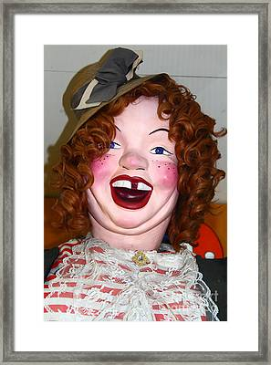 Laffing Sal At The Musee Mecanique At Fishermans Wharf . San Francisco Ca . 7d14359 Framed Print by Wingsdomain Art and Photography