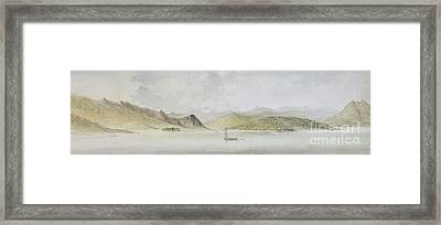 Lago Maggiore Framed Print by Charles Gore