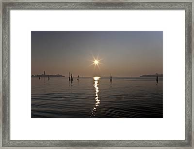 lagoon of Venice Framed Print by Joana Kruse