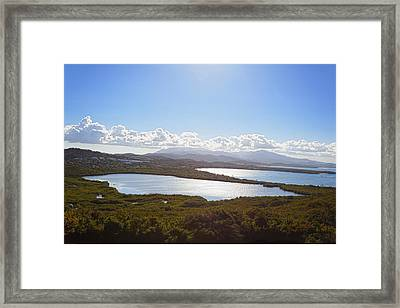 Laguna Grande  Framed Print by George Oze
