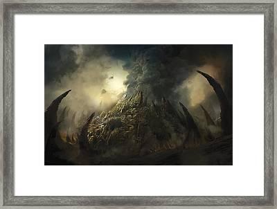 Lair Of The Ashen Idol Framed Print by Philip Straub