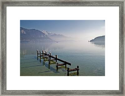 Lake Annecy (lac D'annecy) Framed Print by Harri's Photography