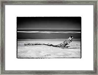 Lake Huron Framed Print by Tanya Harrison