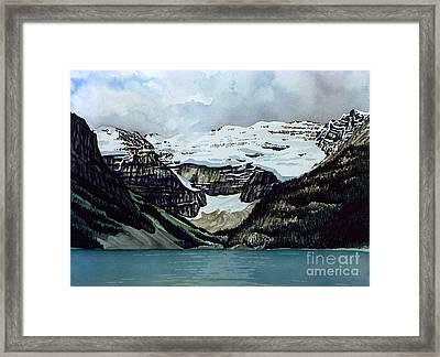 Lake Louise Framed Print by Scott Nelson