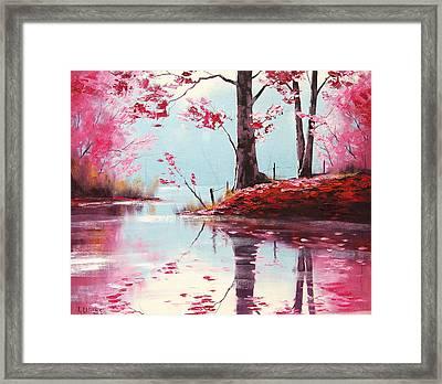 Lake Reflections Framed Print by Graham Gercken