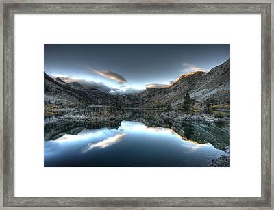 Lake Sabrina Bishop Ca Framed Print by Joe  Palermo