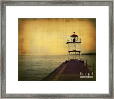Lake Superior Classic Framed Print by Perry Webster