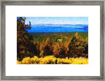 Lake Tahoe Framed Print by Wingsdomain Art and Photography