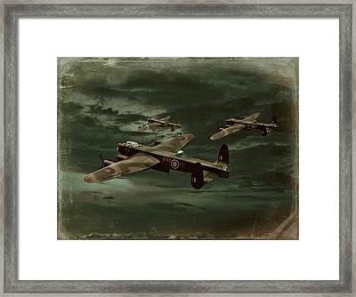 Lancaster Mission Framed Print by Steven Agius