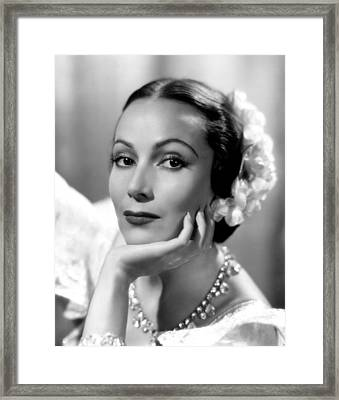 Lancer Spy, Dolores Del Rio, 1937 Framed Print by Everett