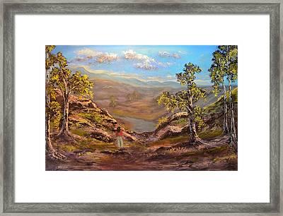 Land Like No Other  Framed Print by Michael Mrozik