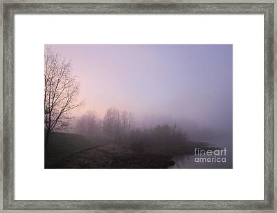 Land Of Mist And Legend Framed Print by Michelle Meer