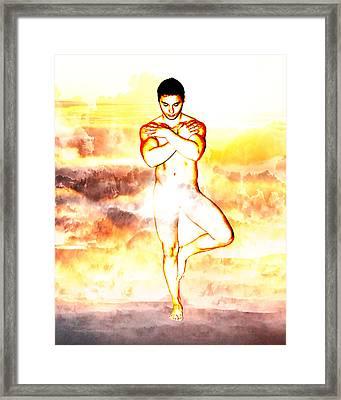 Land Of The Djinn Framed Print by Michael Taggart