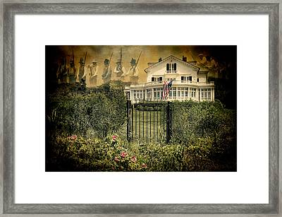 Land Of The Free..home Of The Brave Framed Print by Robin-lee Vieira