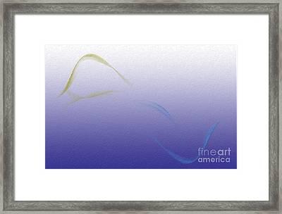 Land To Sea - Spirit Framed Print by Michelle Bergersen