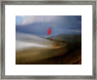 Landing Framed Print by Gun Legler