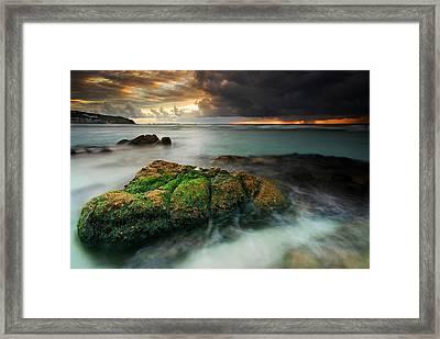 Lands End Framed Print by John Chivers