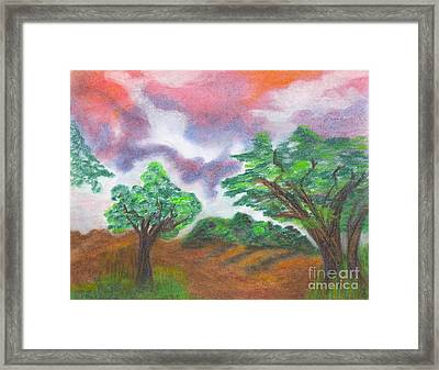 Landscape 1 Framed Print by Mary Zimmerman