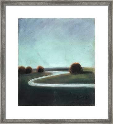 Landscape No 3 Framed Print by L Cooper