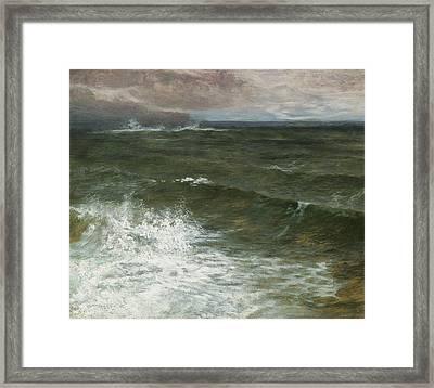 Lannacombe Bay Framed Print by GV Cole
