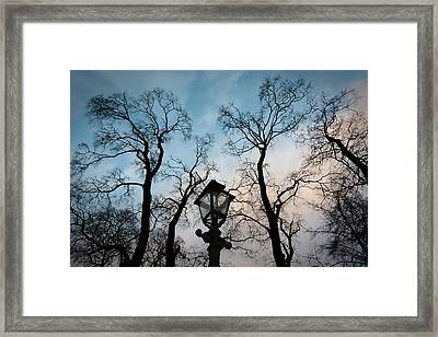 Lantern Framed Print by Konstantin Dikovsky
