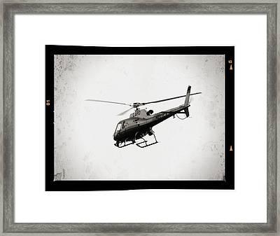 Lapd Framed Print by Ricky Barnard