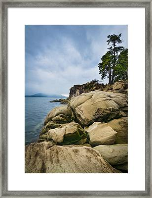 Larrabee State Park Framed Print by Greg Vaughn