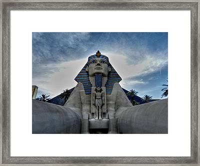 Las Vegas 50 Framed Print by Lance Vaughn
