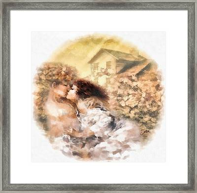 Last Day Of Summer Framed Print by Mo T