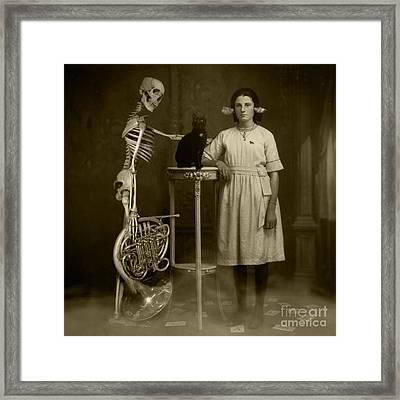 Last Ouija Game Framed Print by Paul Grand