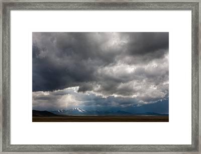 Last Rays Framed Print by Konstantin Dikovsky
